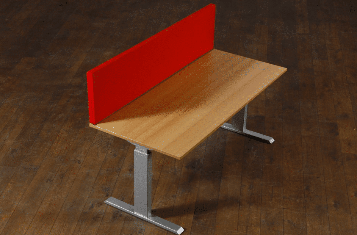 EASYfabric Desk Screen - akoestisch bureauscherm